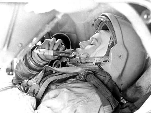 """16 июня 1963 года Валентина Терешкова совершила первый в мире полет женщины-космонавта. Ей был назначен позывной """"Чайка"""""""