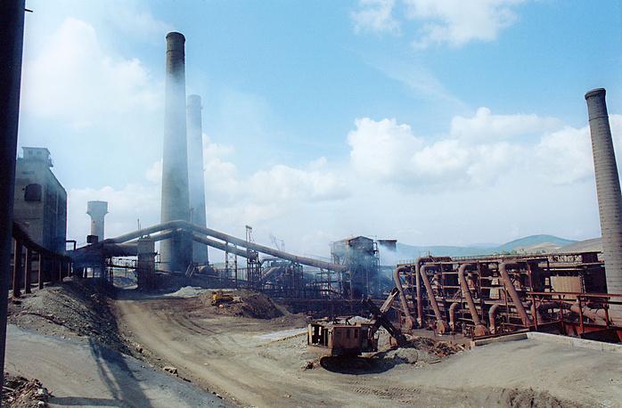 Карабашский медеплавильный комбинат. 1991 год