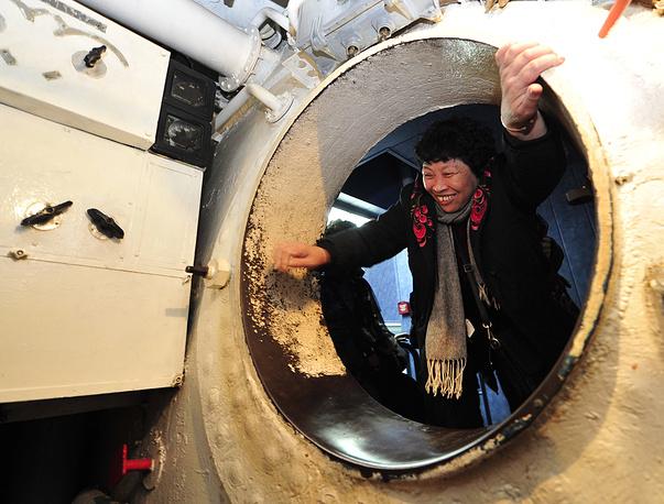 """Мемориальный комплекс """"Подводная лодка С-56"""", Владивосток"""