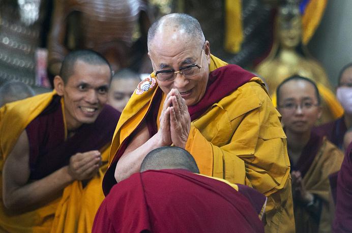 6 место. Далай Лама - 1,7%