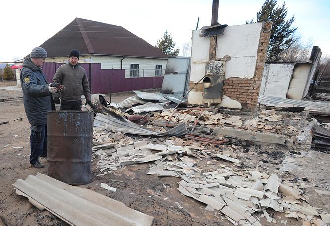 Также пострадали 284 дачных дома