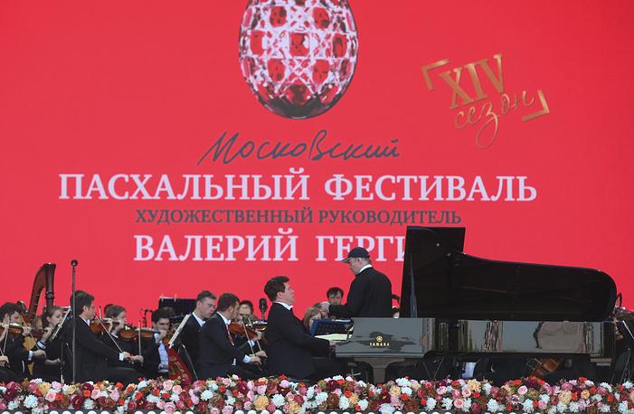 Благотворительный концерт для ветеранов Великой Отечественной войны в рамках XII Московского Пасхального фестиваля на Поклонной горе