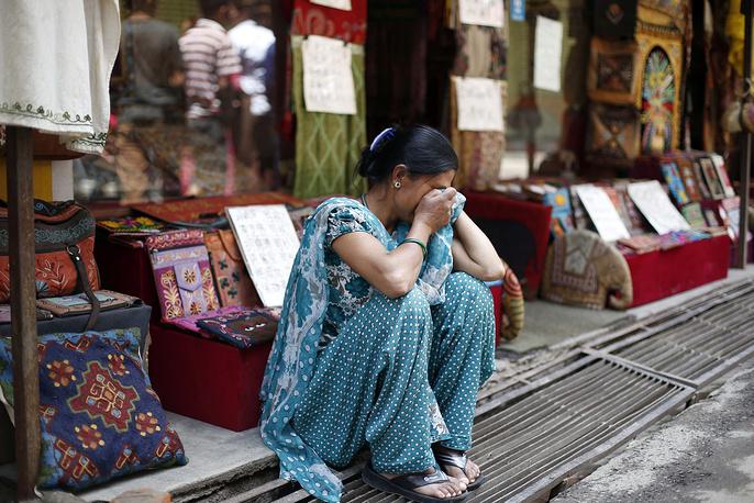 Еще четыре человека погибли в непальской столице Катманду
