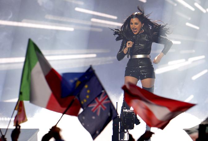 Представительница Грузии певица Нина Сублатти, 11 место