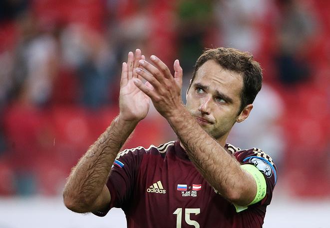 Роман Широков поблагодарил поклонников национальной команды за поддержку