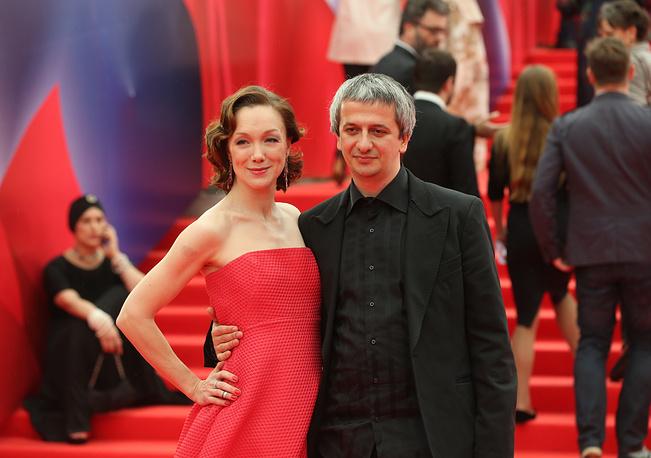 Актриса Дарья Мороз и супруг, режиссер Константин Богомолов