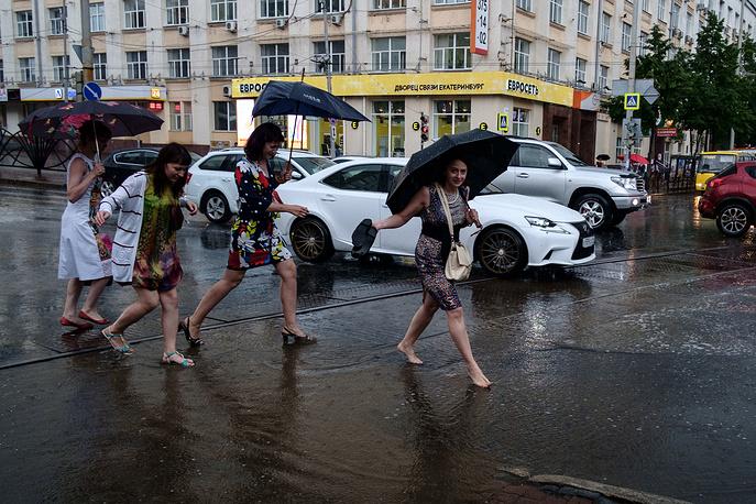 Гроза в Екатеринбурге