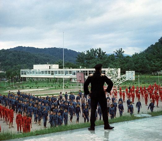 Занятия гимнастикой, 1967 год
