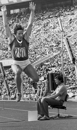 Рекордсменка Олимпиады и мира легкоатлетка Надежда Ткаченко (пятиборье)