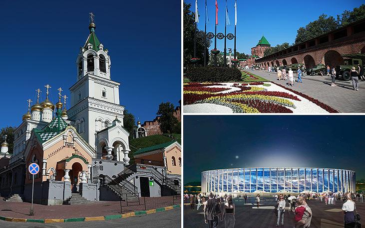 Футбольный стадион в Нижнем Новгороде - новая арена. Завершение строительства запланировано на 2017 год, вместимость - 45 тыс. мест
