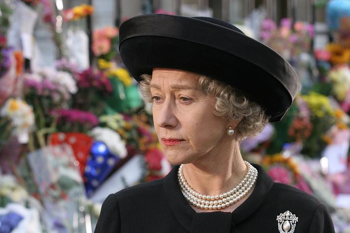 Хелен Миррен в роли королевы Елизаветы II, 2007 год