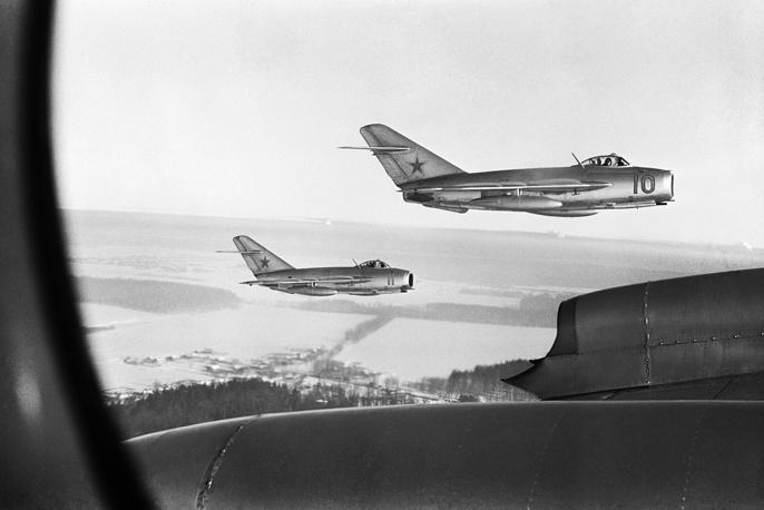 МиГ-15 в разное время состояли на вооружении около 40 стран