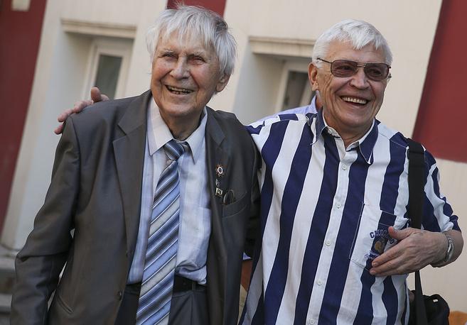 Актеры Николай Дупак и Иван Бортник (слева направо)