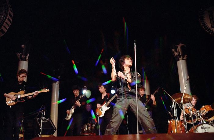 Арт-рок-парад во Дворце культуры Московского электролампового завода (МЭЛЗ), 1988 год