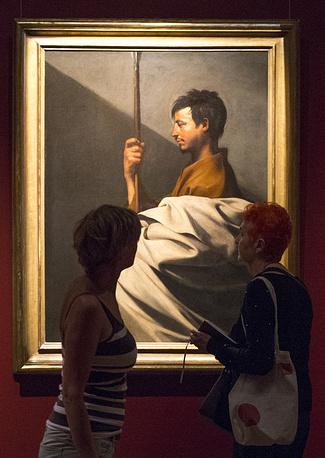 """Картина """"Святой Фома"""" (1611-1613 гг.) художника Хусепе Риберы"""