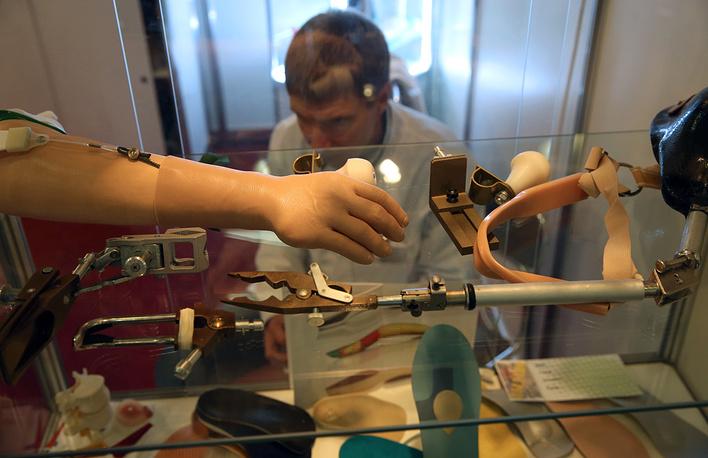 На выставке было представлено медицинское оборудование российского производства