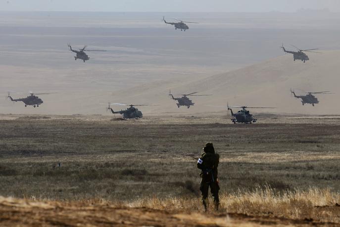 Наступление главных сил осуществлялось под прикрытием авиации
