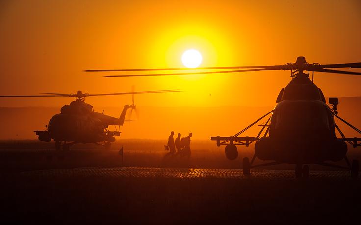 Вертолеты Ми-8