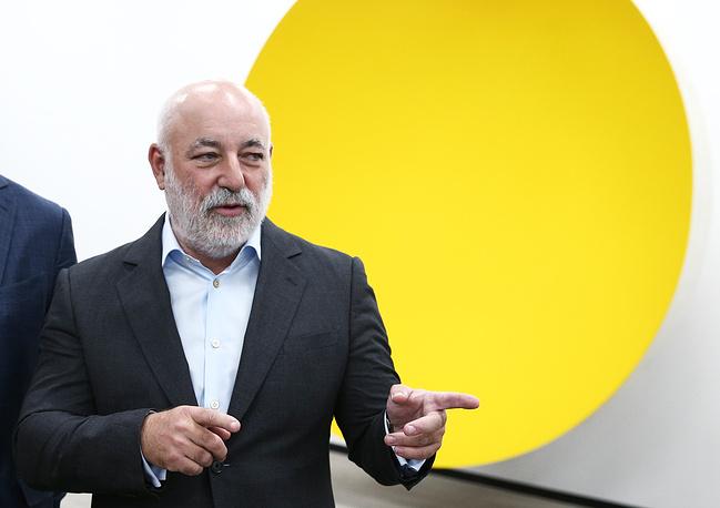 """Президент фонда """"Сколково"""", председатель совета директоров группы компаний """"Ренова"""" Виктор Вексельберг"""