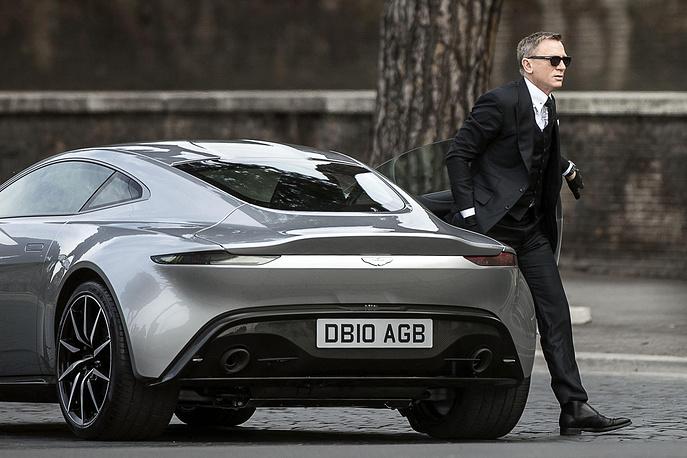 """На съемках фильма """"007: Спектр"""""""