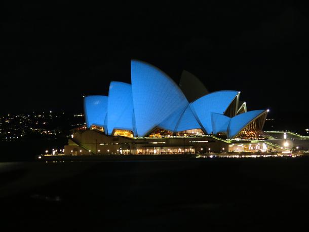 Сиднейский оперный театр, Сидней, Австралия