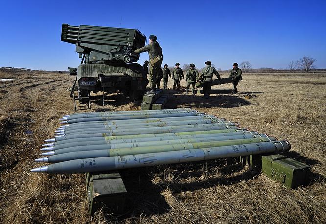 "Модернизированная реактивная система залпового огня ""Торнадо-Г"" калибра 122 мм"