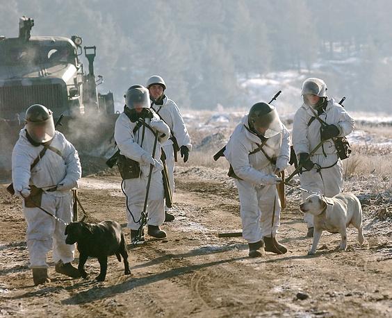 Учения инженерных войск Сибирского военного округа, 2008 год
