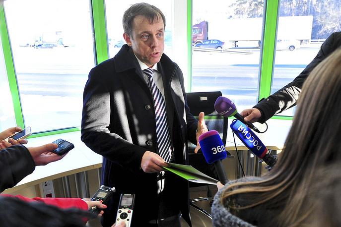 Руководитель Центра организации дорожного движения Правительства Москвы (ГКУ ЦОДД) Вадим Юрьев