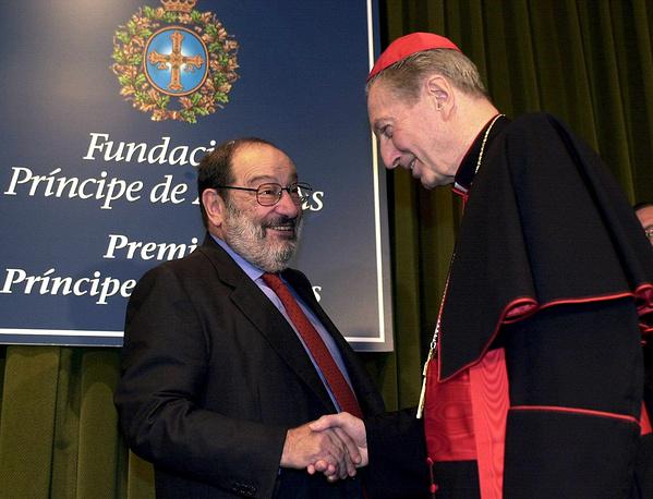 С кардиналом Карло Мария Мартини, 2000 год