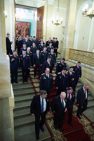 После церемонии вручения государственных наград