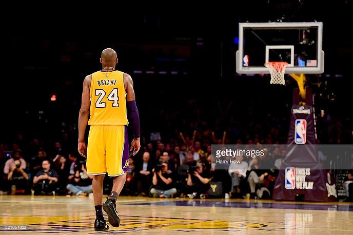 В последнем матче в НБА Коби Брайант набрал 60 очков