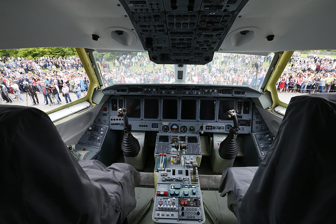 Кабина пилотов