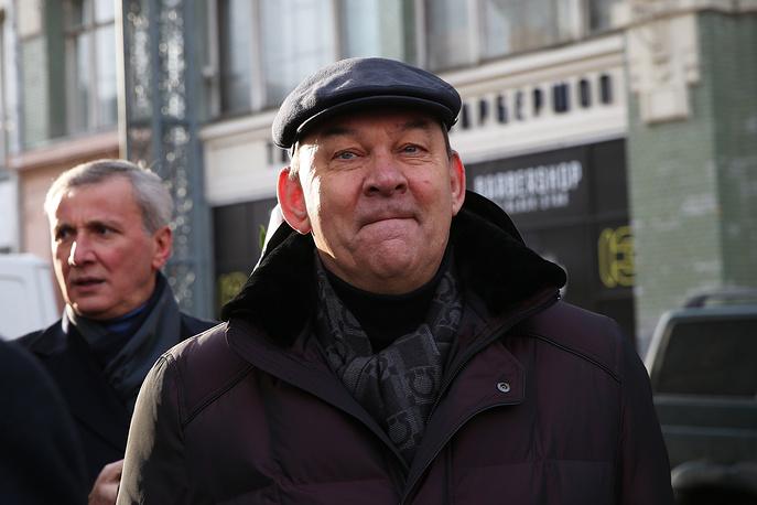 Генеральный директор Большого театра Владимир Урин (на первом плане)