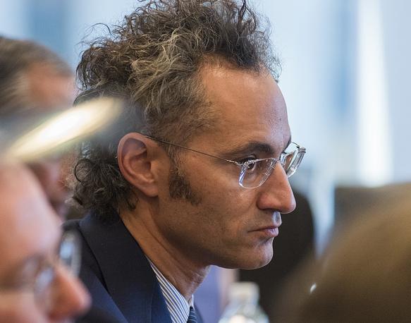 Генеральный директор компании Palantir Technologies Алекс Карп