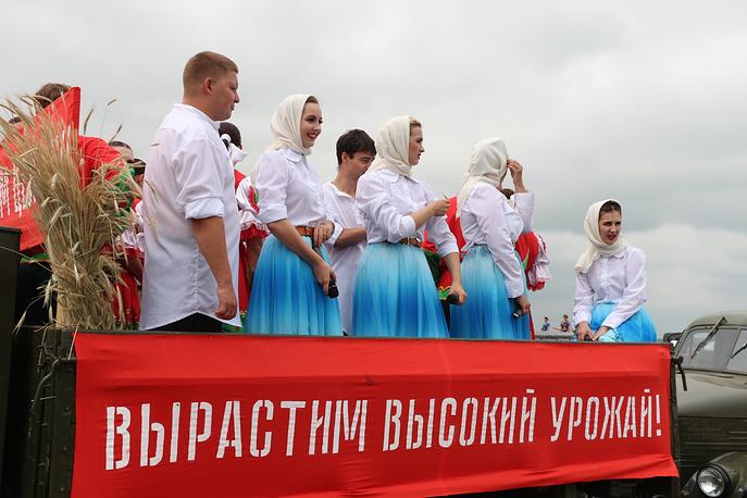 Впервые за 8 лет в стране прошел Всероссийский День поля. Алтайский край