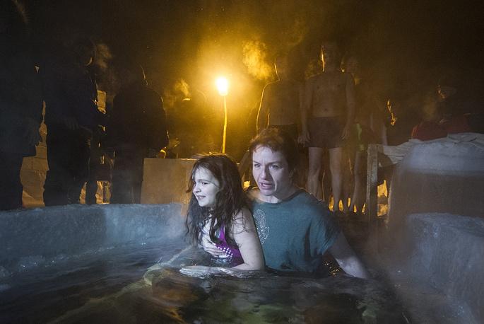 Празднование Крещения Господня в Новосибирске