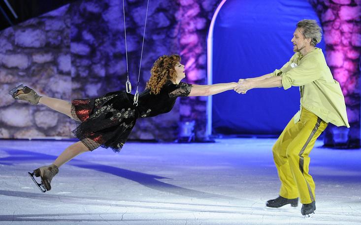 """Ледовое шоу """"Кармен"""" в честь юбилея Натальи Бестемьяновой, 2010 год"""