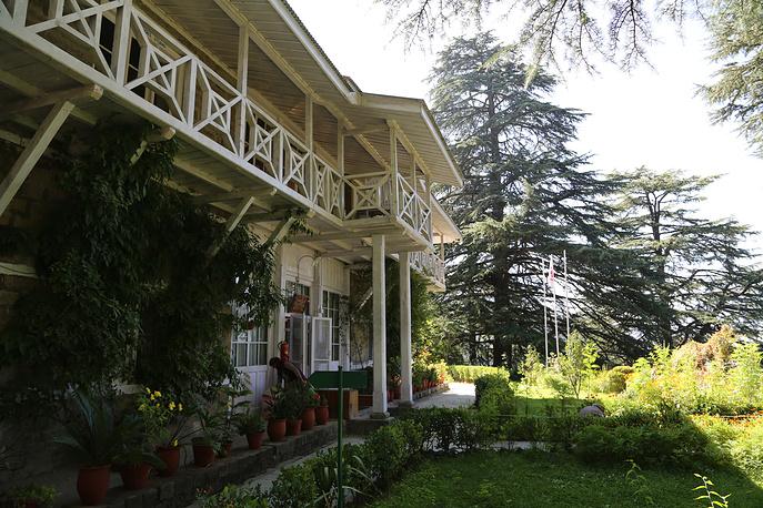 Имение Рерихов в местечке Наггар в долине Кулу