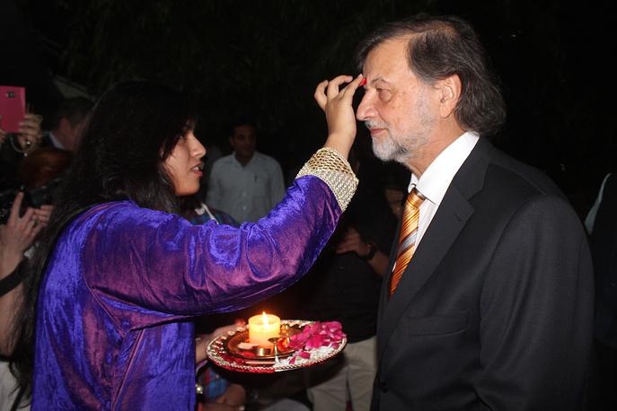 Алексей Рыбников на церемонии открытия кинофестиваля в Нью-Дели