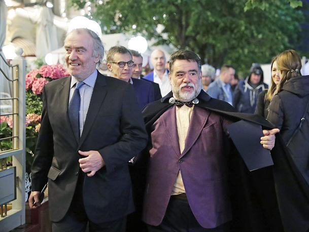 Художественный руководитель Мариинского театра, дирижер Валерий Гергиев и глава группы компаний Bosco di Ciliegi Михаил Куснирович