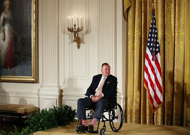 Джордж Буш-старший, 2013 год