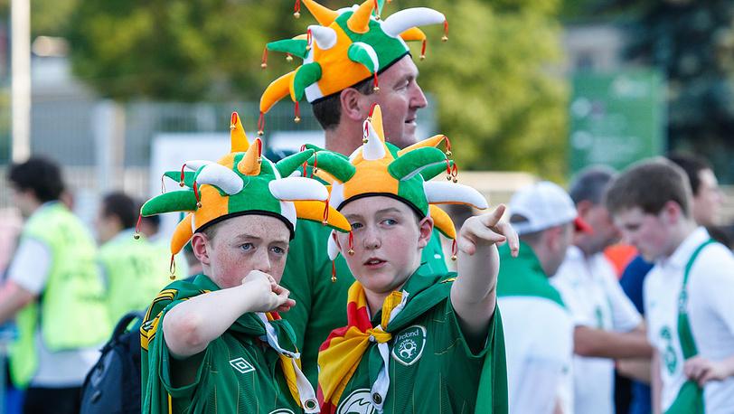 Гости из Ирландии