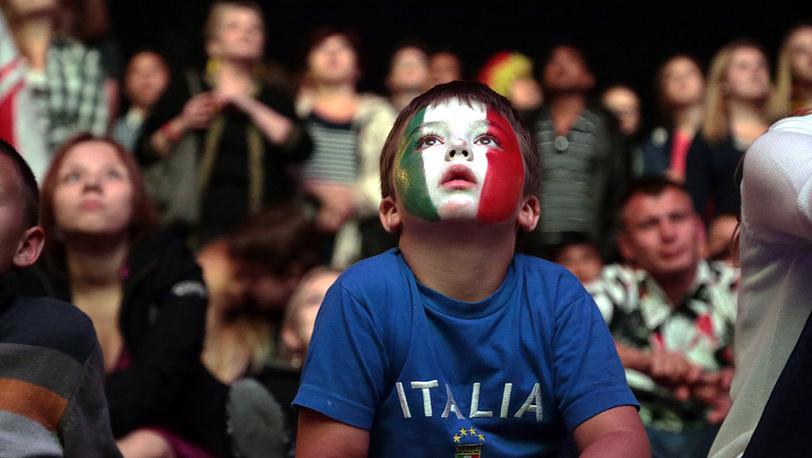 Фанаты итальянской сборной