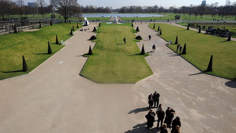 Сад Кенсингтонского дворца