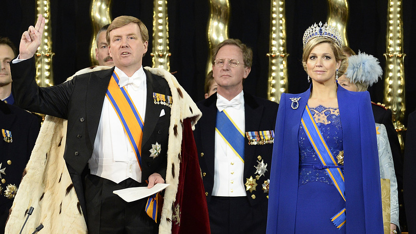 Король Нидерландов Виллем- Александер приведен к присяге