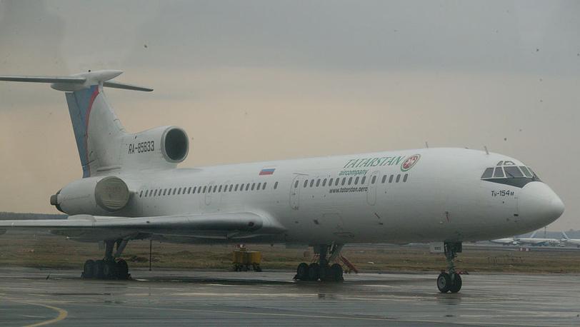 Ту-154м Татарстан RA-85833