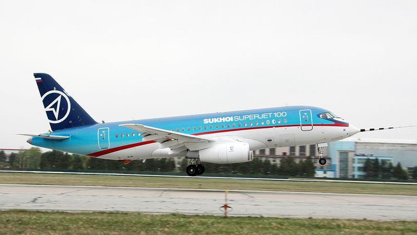 Первый полет самолета Sukhoi Super-jet 100. 2008 год