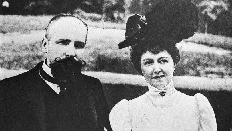Петр Столыпин с супругой Ольгой Борисовной, 1906 год