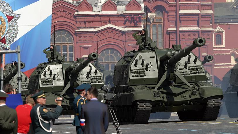 """""""МСТА-С"""" (152-мм самоходно-артиллерийская установка (САУ)"""
