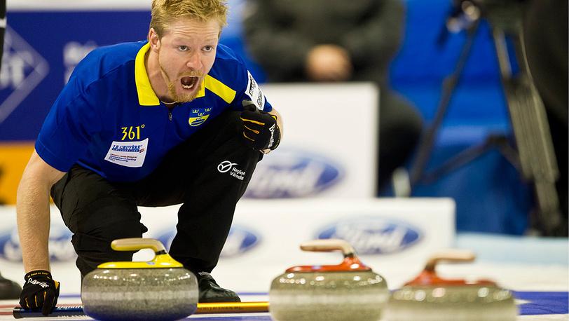 Никлас Един из команды Швеции